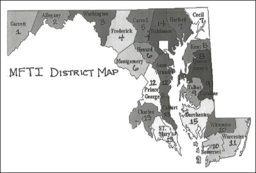 Maryland Trapper Districts